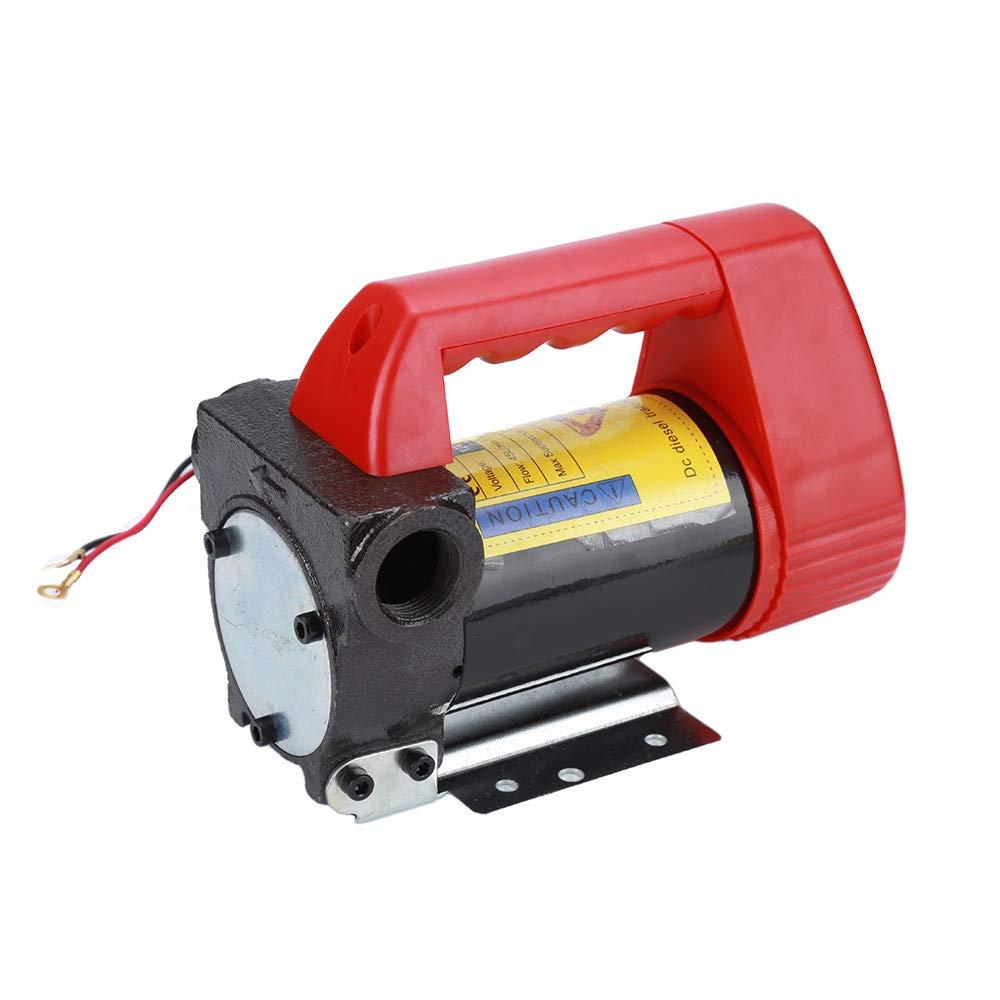Potente Pompa Gasolio ,175 W per Auto//Moto//Veicolo 40 L//min Pompa di trasferimento Pompa di erogazione portatile di carburante 12V