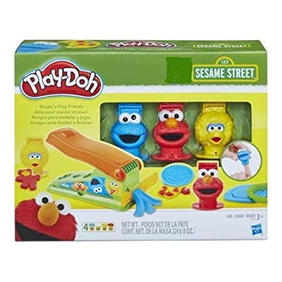 Play-Doh Sesame Street Shape 'N Play Friends: Toys & Games