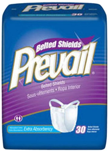 MCK32403100 - Adult Incontinent Belted Undergarment Prevail Pull On One Size Fits Most Disposable Heavy Absorbency