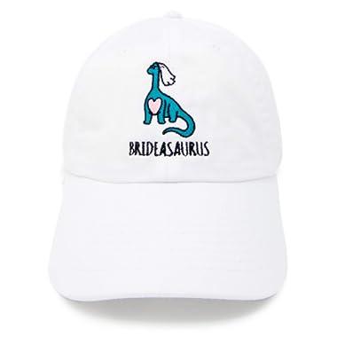 Dinosaur Bride | Brideasaurus Brontosaurus Apatosaurus Bachelorette Party Hats | Bride Tribe Hats