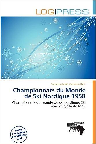 Livres audio gratuits à télécharger pour ipad Championnats Du Monde de Ski Nordique 1958 PDF 6200646635