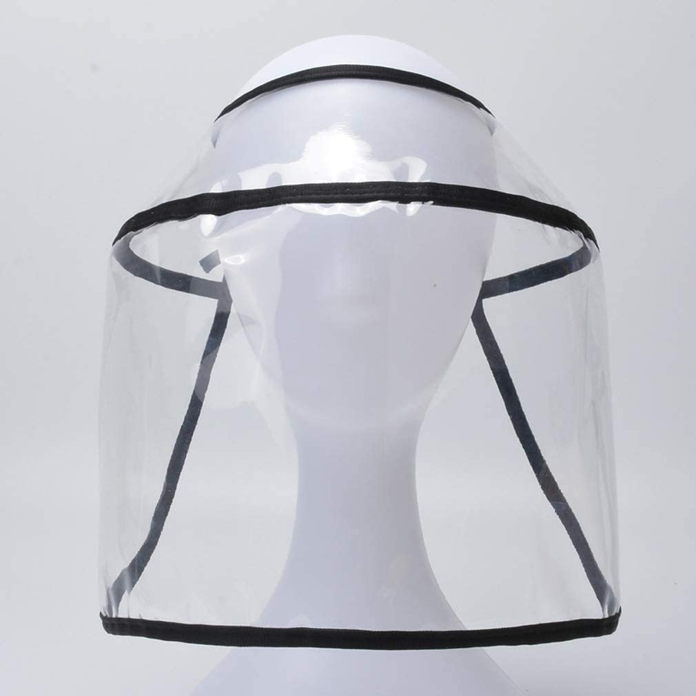 Full Protection Cap Wide Brim Anti Pollution Protective Hat Anti-Spitting hat for Women Men