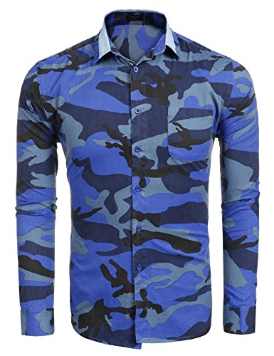 Coofandy Fashion Camouflage Summer Contrast product image