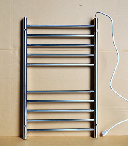 Stainless Steel Electric Radiator Towel Rail: Bathroom 110v Stainless Steel Electric Heated Warmer