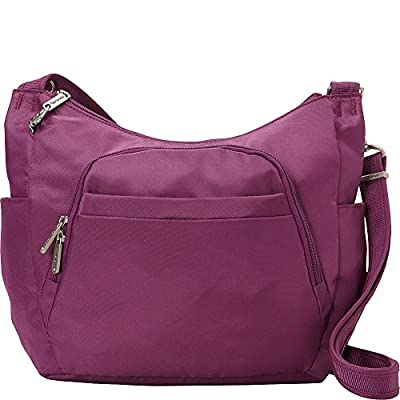 Travelon Anti-Theft Classic Crossbody Bucket Bag - Exclusive Colors