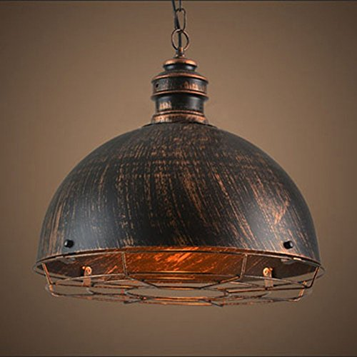 Luminaire De Plafond Industriel Rustique Sun Run Lustre à Rayures