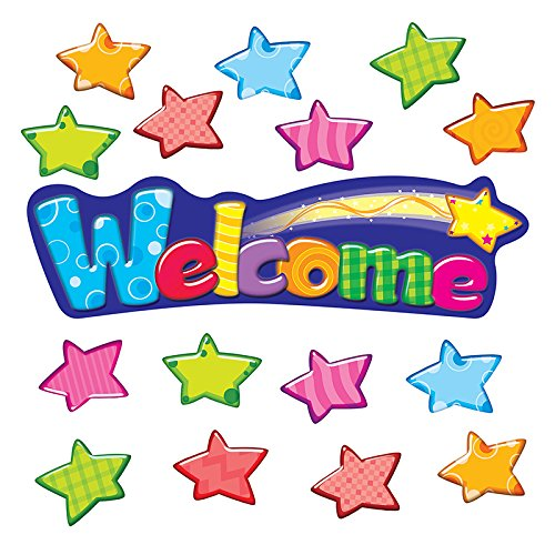 Trend Enterprises Inc. Welcome Stars Mini Bulletin Board Set