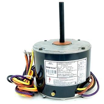 k55hxpcl 5011 oem upgraded emerson condenser fan motor 1 4 5 wire motor wiring diagram condenser fan motor 1 8 hp 208 230 volt