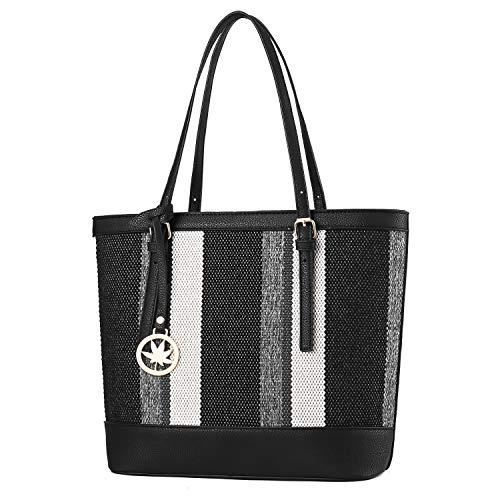 Shoulder Handbag Womens Tote bags Ladies Canvas Waterproof Large Capacity Purse Fashion Daypack for Work