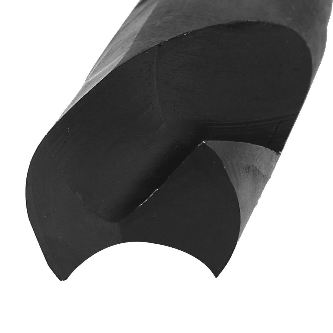 uxcell 30mm Cutting Diameter 1//2-inch Straight Shank HSS 6542 Twist Drill Bit Black