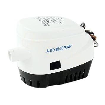 Automático sumergible bomba de agua de sentina con Auto flotador switch-750gph: Amazon.es: Deportes y aire libre