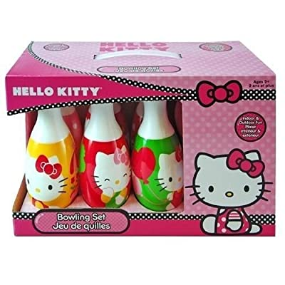 Brand New Hello Kitty Toy Bowling Set: Toys & Games