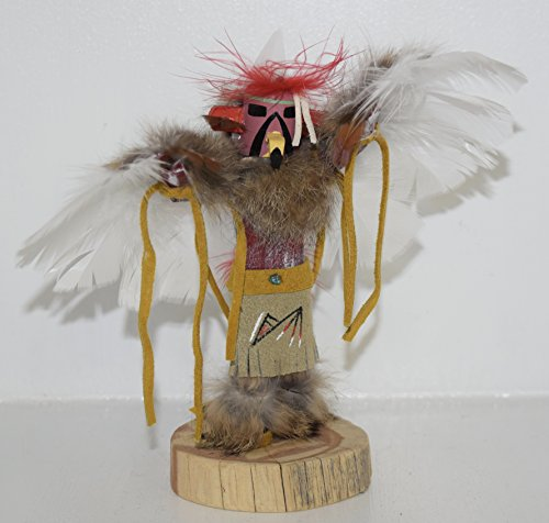 7 INCH Red Tail Hawk Kachina