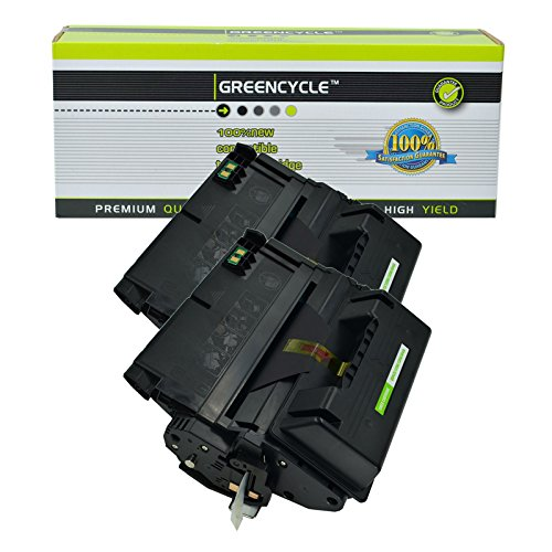 - Greencycle Compatible Replacements for HP 45A Q5945A Black Laser Toner Cartridges for Laserjet 4345 Printer Series 2 Packs