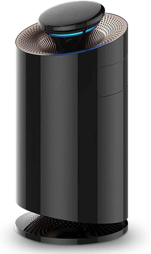 Purificador De Aire para El Hogar con Filtros HEPA, Limpiador De Aire, Ambientador Ionizador De Aire para Humo De Cigarrillo,Black: Amazon.es: Hogar