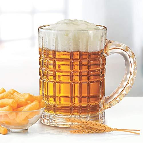 Treo by Milton Bruiser Crystal Beer Glass Mug, 630 ml Price & Reviews