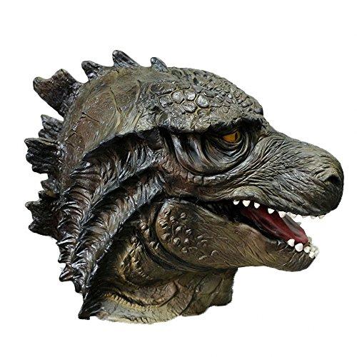 Realistic Latex Mask Godzilla Dragon Animal Full Head