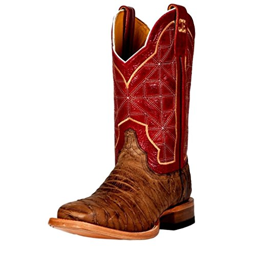 Cinch Women's Jordan WN Western Boot,Brown/Red,7 B US by Cinch
