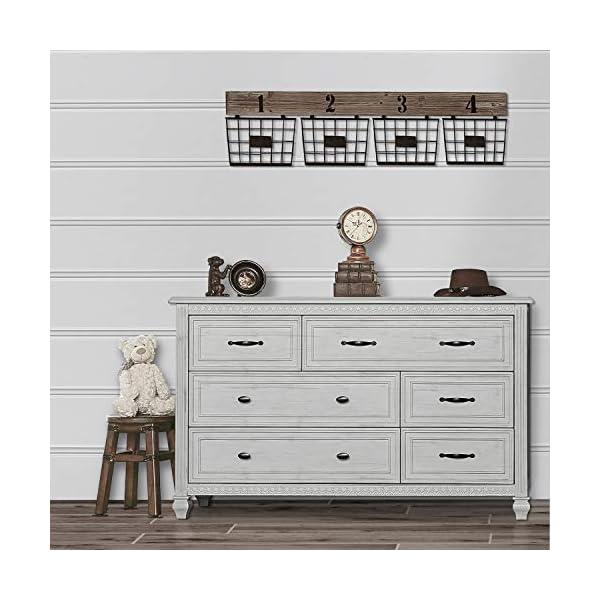 Evolur Madison Double Dresser, Antique Grey Mist