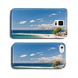Beach at Makarska, Croatia cell phone cover case Samsung S6