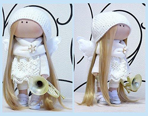 Angel doll-Christmas doll-Handmade-Russian doll-Doll-Textile Doll-Fabric Doll-Decoration doll-dolls- Art doll- Home Decoration doll