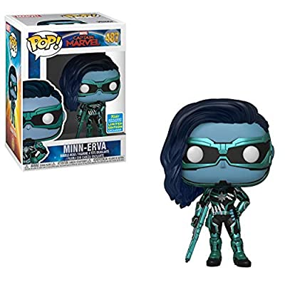 Funko POP! Marvel: Captain Marvel - Minn-Erva #487 - 2020 SDCC Shared Exclusive: Toys & Games