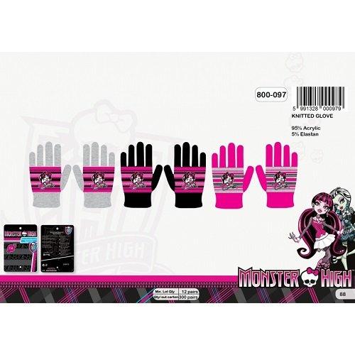 Monster High Winter Handschuhe Ski Handschuhe (Bitte die Farbe per Email mitteilen)