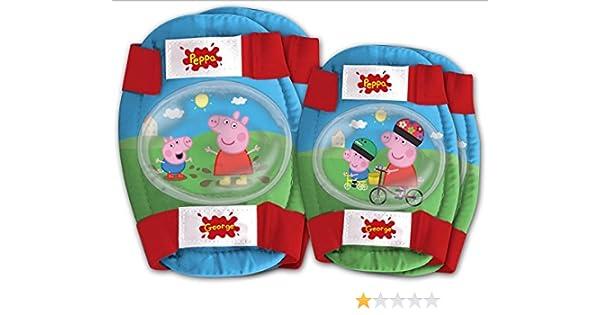 Kit Proteccion Niño Niña Codos Rodillas compatible con Peppa ...
