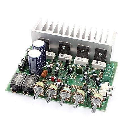 Oi-Fi 4 canais de áudio estéreo Amplificador Power Board