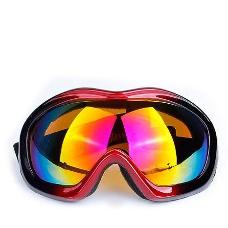 2dbcc84604 ZYSMC Gafas De Esquí, Gafas De Snowboard para La Protección De Adultos Y  Anti-