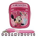 Disney's Minnie Mouse Cross Purse Bag (Light Pink)