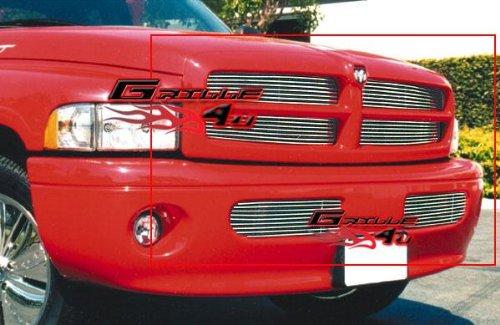 APS Compatible with 1999-2001 Dodge Ram Sport Billet Grille Combo D87948A ()