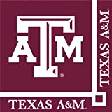 Texas A & M Aggies Beverage Napkins, 20-Count