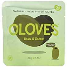 Oloves Basil And Garlic 1.1oz (Pack of 10)