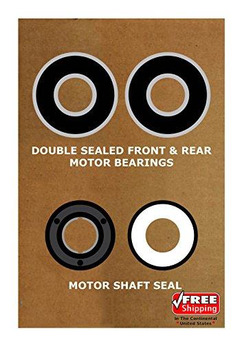 Pump Motor Bearing (Pool & Spa Motor Bearing Kit & Shaft Seal USQ1102 USQ1152 UST1102 UST1152 K104)