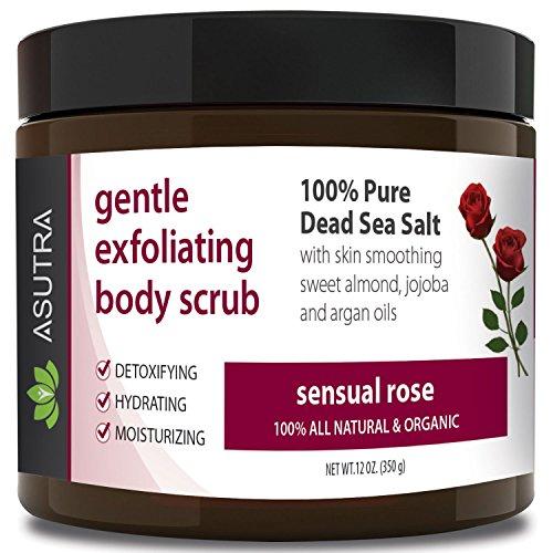 - ASUTRA Organic Exfoliating Body Scrub -