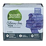Seventh Generation Ultrathin Pads, Regular with wings, Free & Clear, 18 count