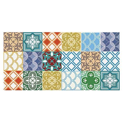 Alwayspon Non-Slip Floor Wall Tile Sticker for Home Decor, Self-Adhesive Peel and Stick Backsplash Tile Decal for Kitchen Bathroom, 23.6x47.2inch 1pcs