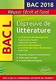 épreuve de littérature Bac 2018 : Madame de Lafayette/Bertrand Tavernier, La Princesse de Montpensier - Gide, Les Faux-Monnayeurs et le journal des Faux-Monnayeurs