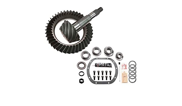 3.55 RING AND PINION /& MASTER BEARING INSTALL KIT COMPATIBLE WITH CHRYSLER//DODGE 8.25