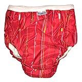 Kushies Potty Taffeta Training Pants - Large - Charcoal Transport
