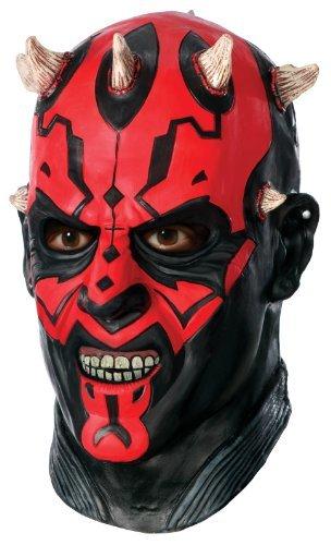 - Japan Import Star Wars Darth Maul Overhead Latex Mask Star Wars Darth Maul of overhead latex mask ♪ Halloween ♪ Size: One-Size