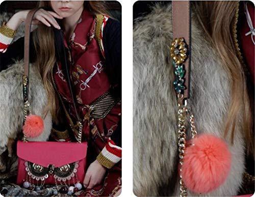 Mucca Borsa A jaycel Bag Fashion Ginny sided Donna Accessori Maschera Borsetta Originale trapa28 Messenger In Trapa9 Double Pelle Design Cute Borsa Mano Piccola Sostituibile Tracolla FBdq8df