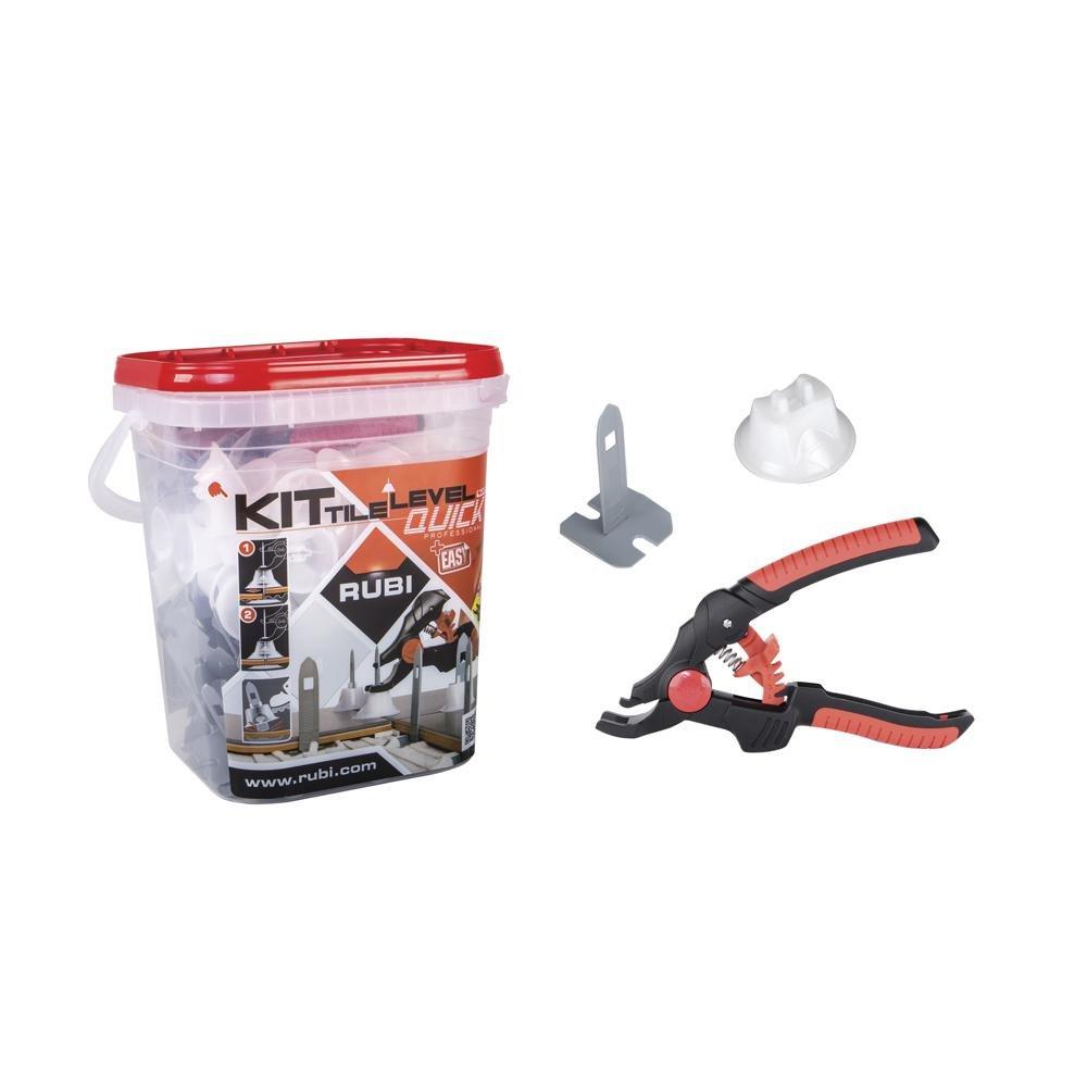 RUBI TOOLS Tile Level Quick Kit Ref.02941 (100 straps, 100 caps and 1 pliers)