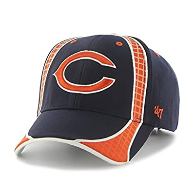 '47 Men's Adjustable Chicago Bears Hat Clu MVP Cap by Twins Enterprise, Inc.