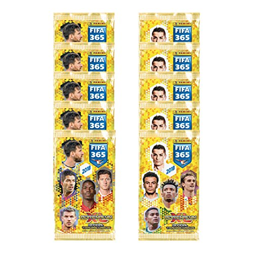 Galleon - 2017-18 PANINI ADRENALYN FIFA 365 10 PACKS (90 CARDS) LOOK