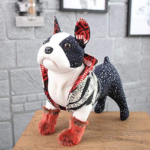 TRETRI I Simulation Dog Plush Toy Shar Pei Chihuahua Bulldog Pet Dog - Toys Pully Pug Kids