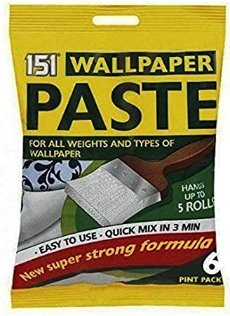 6 Pint Wall Paper Roll Wallpaper Paste Super Strong Stick Quick