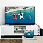 Rankie-Cavo-HDMI-Alta-velocit-Ethernet-3D-Video-4K-e-Arc-Nylon-Intrecciato-18-m-Rosso