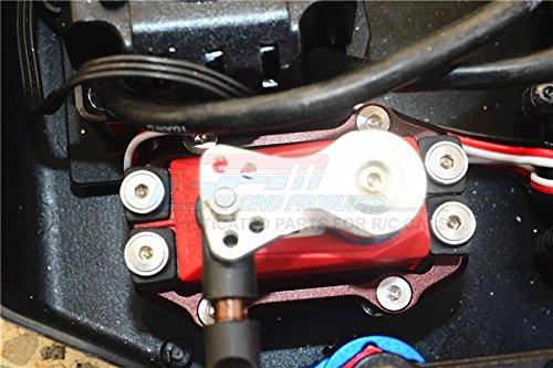 Arrma KRATON 6S BLX//OUTCAST 6S BLX Upgrade Parts Aluminium Servo Mount 1 Set Green